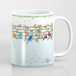 Singing Doodle Birds Coffee Mug