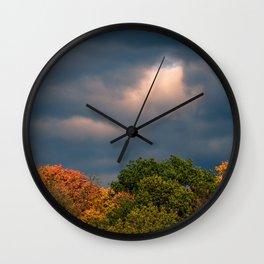Storm Sky Wall Clock
