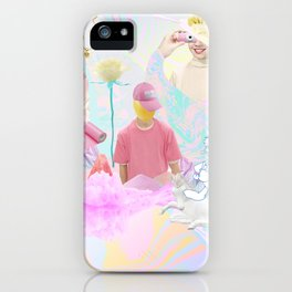 PINK RAVE iPhone Case