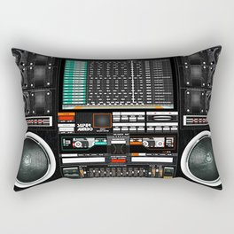 Boombox Ghetto Blaster J1 Super Jumbo Rectangular Pillow
