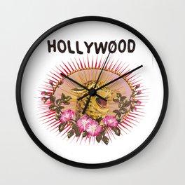Hollywood Leopard Wall Clock