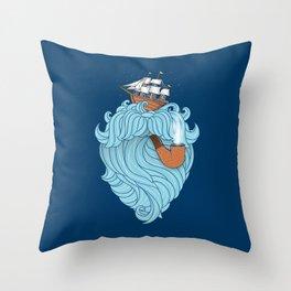 Skilled Sailor Throw Pillow