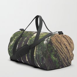 Fern Landing - California Redwood Forest Duffle Bag
