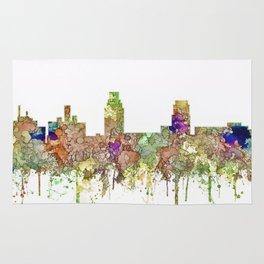 Camden, New Jersey Skyline SG - Faded Glory Rug