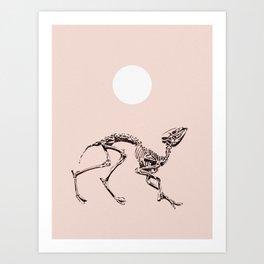 Dancing Fossil Art Print