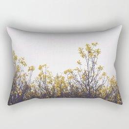 Yellow Leaves No1 Rectangular Pillow