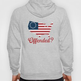 Betsy Ross Flag Offended? Hoody