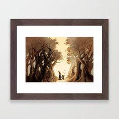 Wirt, Greg, and Beatrice Framed Art Print