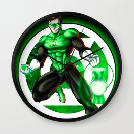 Hal Jordan - Green Lantern Wall Clock