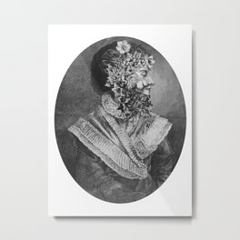 Victorian Beard Metal Print