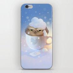 cup of owl iPhone & iPod Skin