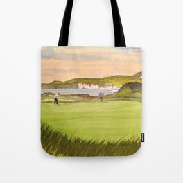 Royal Portrush Golf Course 5th Hole Tote Bag
