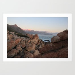 Where Dinosaurs Roamed - Gordons Bay, South Africa Art Print