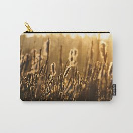 Winter sunset at the wetland Carry-All Pouch
