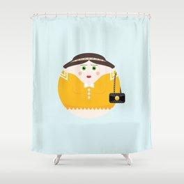 NEW YORK STORIES: GARGOYLES OF NY CHARACTERS #2 BLAIR WALDORF Shower Curtain