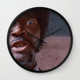 Great Vengeance And Furious Anger - Pulp Fiction Wall Clock