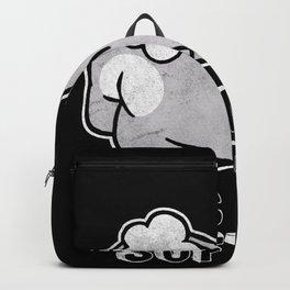 Kiss My Soft Ass Rabbit Backpack