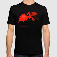 J is for Jersey Devil Mens Fitted Tee Black MEDIUM