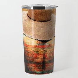 The colorful man Travel Mug