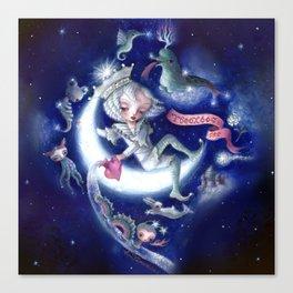 The Aquarius ~Stary sky ver.~ Canvas Print