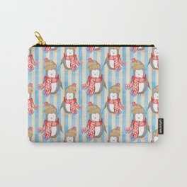 Christmas Pinguin Carry-All Pouch