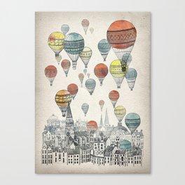 Voyages over Edinburgh Canvas Print