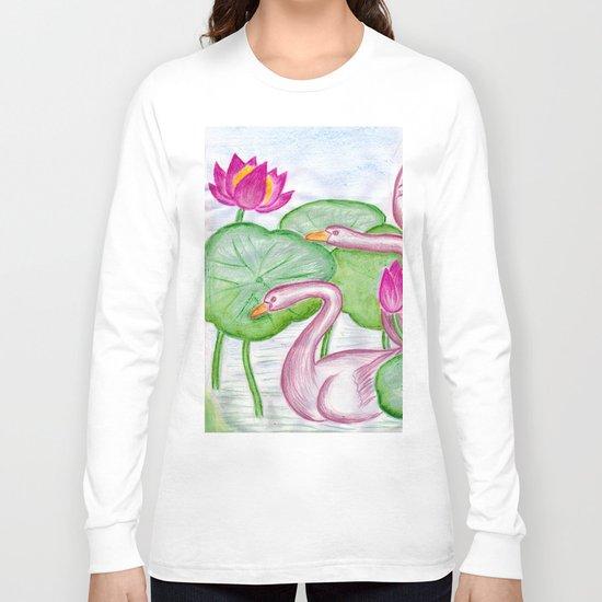 Swan Couples Long Sleeve T-shirt