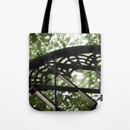 Garden Window Detail at Alcazar of Seville Tote Bag