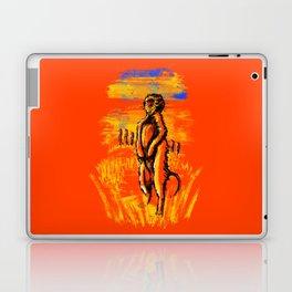 Get on alert Meerkat Laptop & iPad Skin