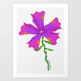 Strange Flora #001 Art Print