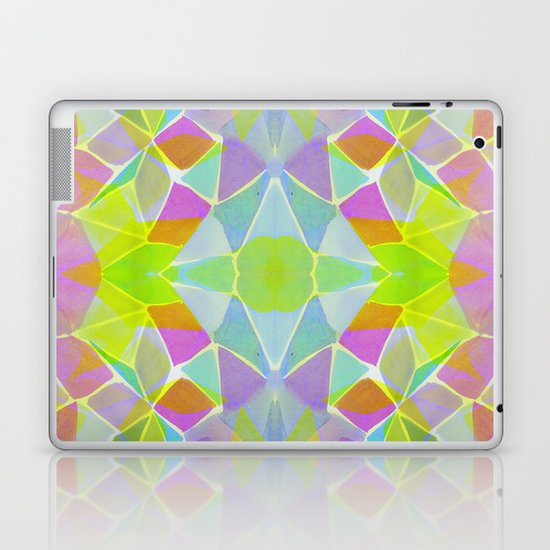 Chroma Lime Laptop & iPad Skin