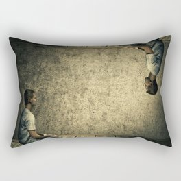 Parallel reality Rectangular Pillow