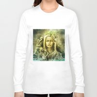 norway Long Sleeve T-shirts featuring Norway by Holly Carton
