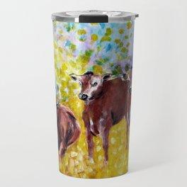 Farm Animals Protected by Saint Brigid of Kildare Travel Mug