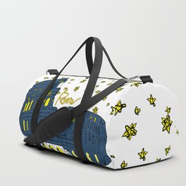 Rome Italy Colosseum Starry night Duffle Bag