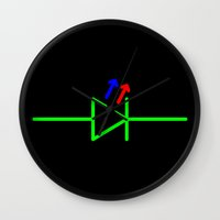 led zeppelin Wall Clocks featuring LED by EEShirts