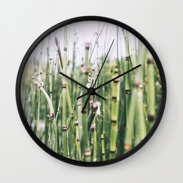 Bamboo, I Wall Clock