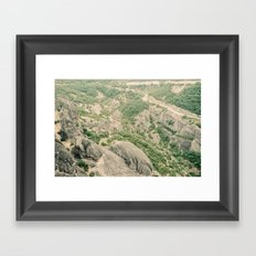 Kalambaka Framed Art Print