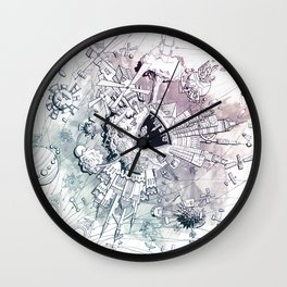 Universe in Progress Wall Clock
