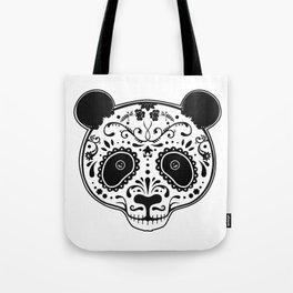 Dark Panda Tote Bag