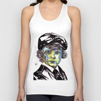 u2 Tank Tops featuring Decomposition IV - Lucifer by Joseph Walrave