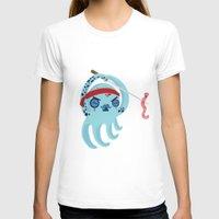 samurai T-shirts featuring samurai by Maria Jose Da Luz