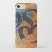 om iPhone & iPod Cases featuring Om by Michael Creese