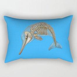Baiji Dolphin Rectangular Pillow