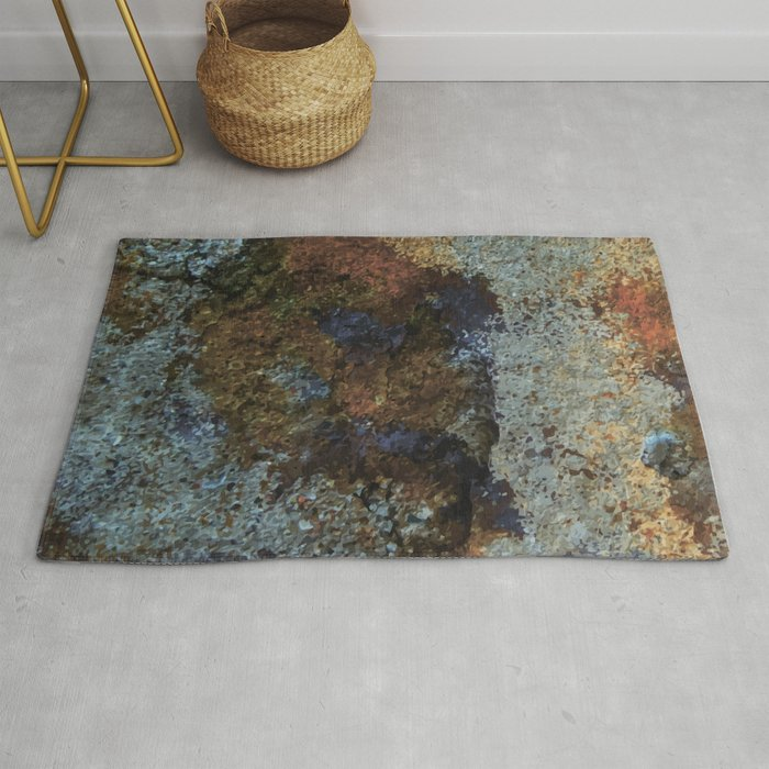 Dirty Wall Rug By Nessikk