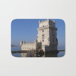 Castelo de Belem, Lisbon Portugal Bath Mat