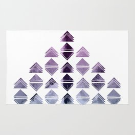 Rhombus triangles Rug