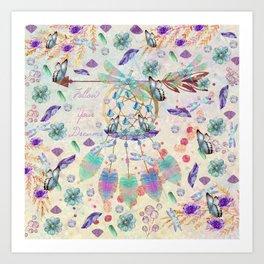 Bohemian Gems Art Print