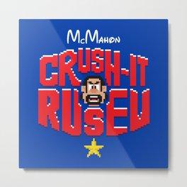 Crush-It Comrade Metal Print