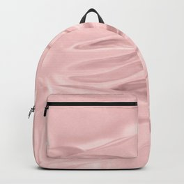 Rose Quartz Satin Backpack